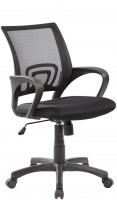 Офисное кресло RIVA CHAIR RCH 8085, черная сетка / ткань