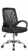 Офисное кресло RIVA CHAIR RCH 8099, черная сетка / ткань