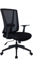 Офисное кресло RIVA CHAIR RCH 789, черная сетка / ткань